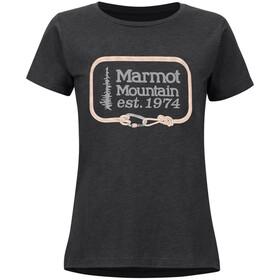 Marmot Ascender SS Tee Women charcoal heather